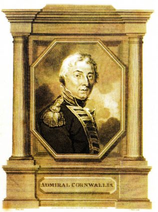 Admiral Cornwallis | Image in the public domain