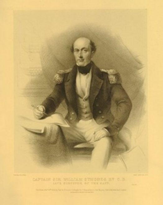 Rear Admiral Sir William Symonds   Edward Morton, 1850: after Henry Wyndham Phillips (Public Domain)