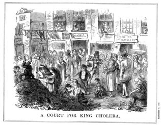 court for king cholera | Creative Commons