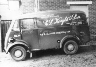 Knight's van | Courtesy of MOSHRS