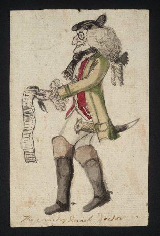 The Visiting Quack Doctor null British School 18th century 1700-1799 Purchased as part of the Oppé Collection with assistance from the National Lottery through the Heritage Lottery Fund 1996 https://www.tate.org.uk/art/work/T10122 | Creative Commons CC-BY-NC-ND