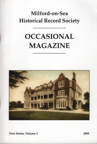 Occasional Magazine New Series, Volume 3 2009