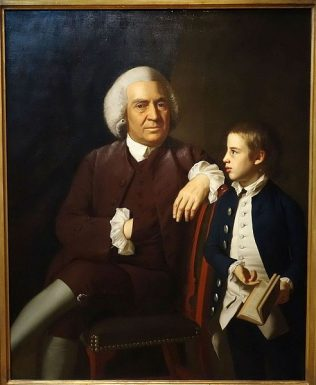William Vassall and his Son Leonard by John Singleton Copley c.1771 | M. H. de Young Memorial Museum (Public Domain)