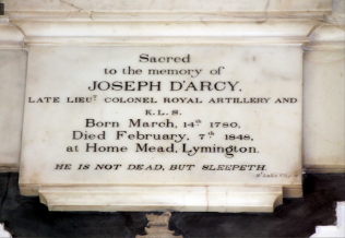Joseph D'Arcy | Courtesy of All Saints Milford