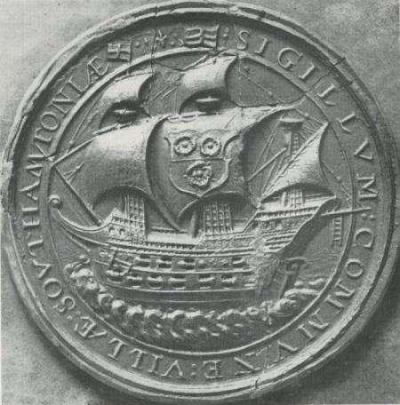 Seal of Southampton (17th Century) | Heraldry-wiki Commons