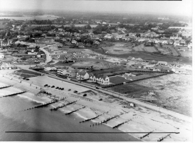 Hurst Road and Sea Road ca 1960   Courtesy of MOSHRS