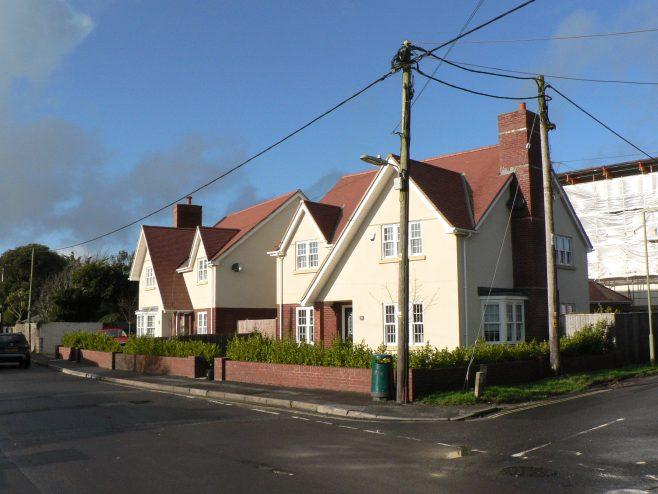 Keyhaven Road towards Carrington Lane 2020
