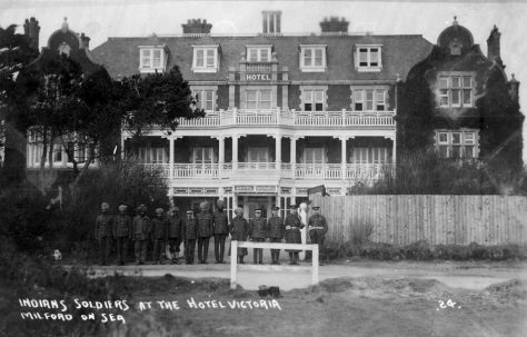Milford-on-Sea and the Great War