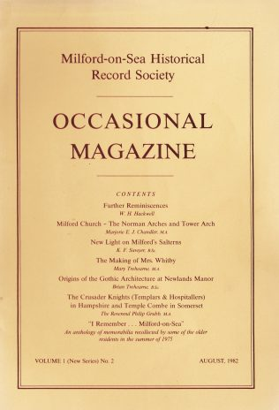 Occasional Magazine August 1982